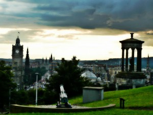 Balmoral from Calton Hill