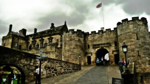 Stirling Castle entrance
