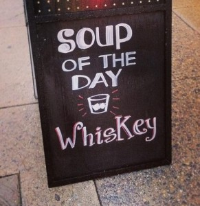 La sopa del día ya no es lo que era...