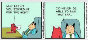 Y de regalo, un chiste de Dilbert.