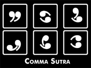 signos de puntuación - comma sutra