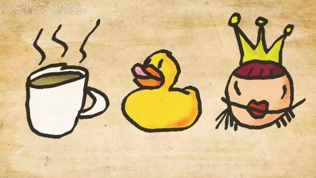 palabras que pronunciáis mal en inglés tea Duck Queen!