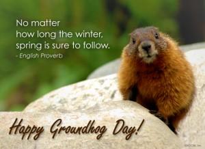 Groundhog Day, el día de la marmota