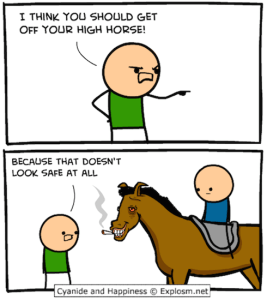 High horse C&H