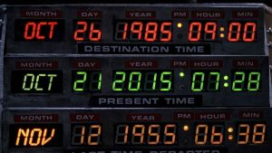 Back to the future October 21