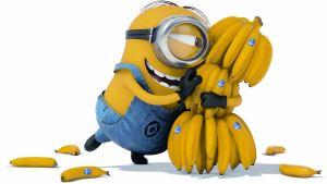 Go bananas minions