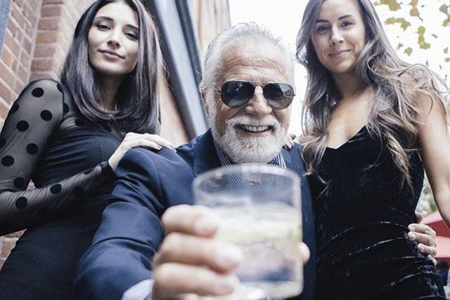 Most Interesting Man in the world.