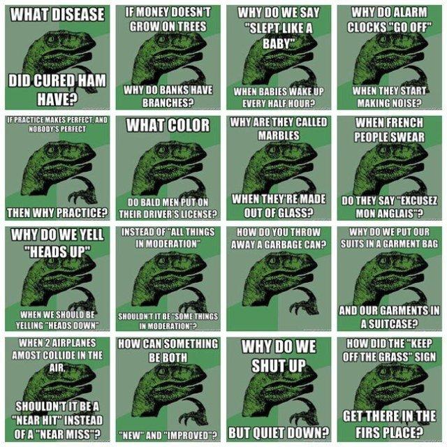 Philosoraptor memes