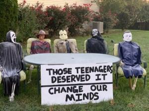 Change my mind hallowwen