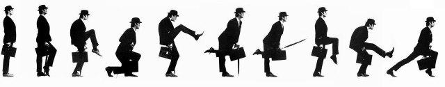 andar en inglés Ministry of Silly Walks