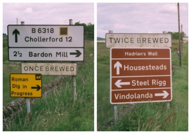 Once Brewed / Twice Brewed