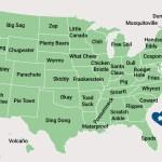nombres de lugar curiosos en Estados Unidos
