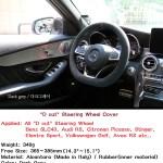 Alcantara Steering Wheel D Cut Cover For 2017 2018 2019 Elantra Sport Car Truck Steering Wheels Horns Auto Parts And Vehicles Tamerindsa Com Ar