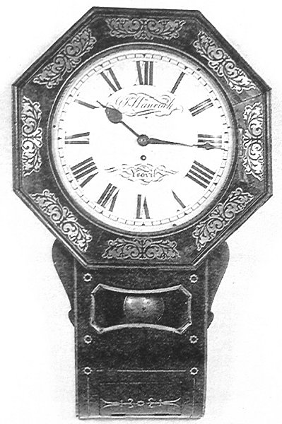 A George IV 1820 1830 Mahogany And Brass Inlaid Bracket