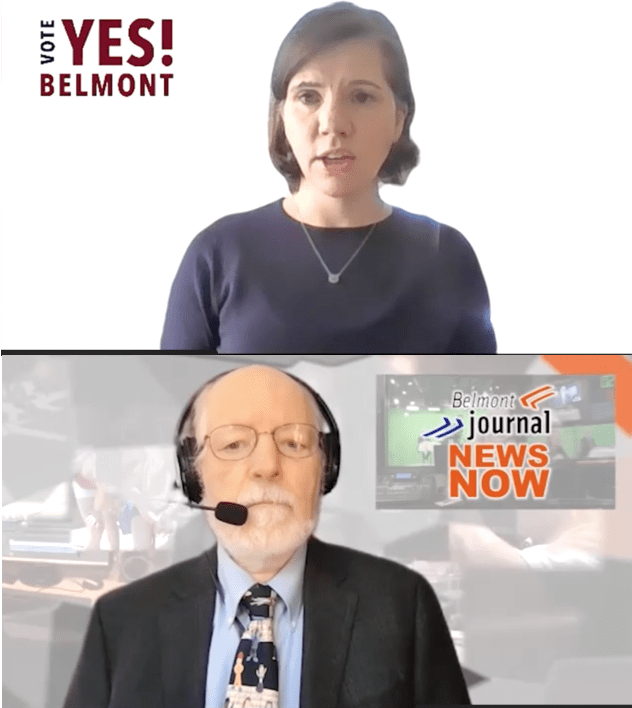 YES for Belmont Campaign Manager Nicole Dorn on Belmont Journal