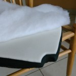 שיפוץ, חידוש ועיצוב של כסא: שכבת ספוג ושכבת אקרילן - תוספת נוחות