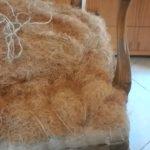 מילוי הספה - פרט שערות קוקוס