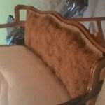 מילוי הספה - שערות קוקוס במשענת