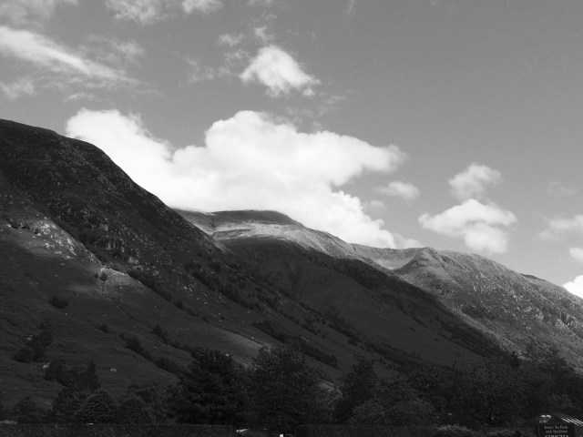 Ben Nevis Scotland Black and White Photography