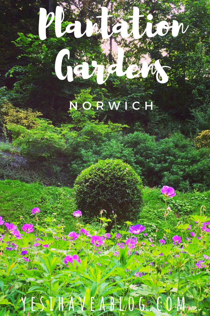 Yesihaveablog | Victorian Plantation Gardens Norwich | What to Do in Norwich | Life in a Fine City | Visit England