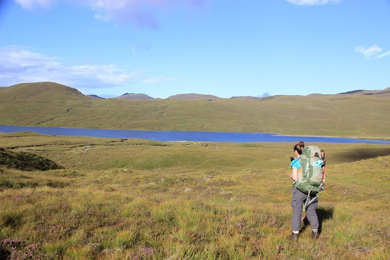 Cape Wrath Trail - Itinerary North to South - Day 10 - Near Bernaise Bothy