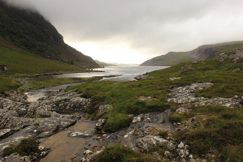 Cape Wrath Trail - Itinerary North to South - Day 3 - Glencoul Bothy