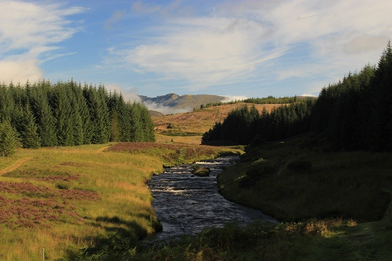 Cape Wrath Trail - Itinerary North to South - Day 6 - Benmore Lodge