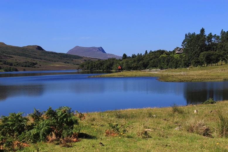 Cape Wrath Trail - Itinerary North to South - Day 7 - Loch Achall