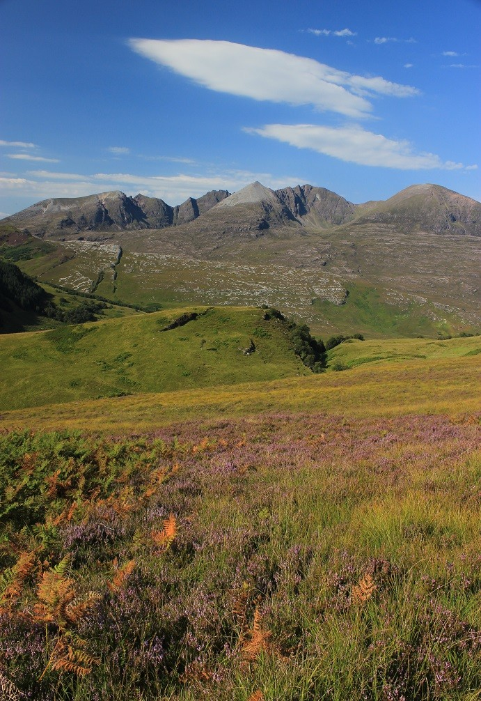 Cape Wrath Trail - Itinerary North to South - Day 8 - An Teallach