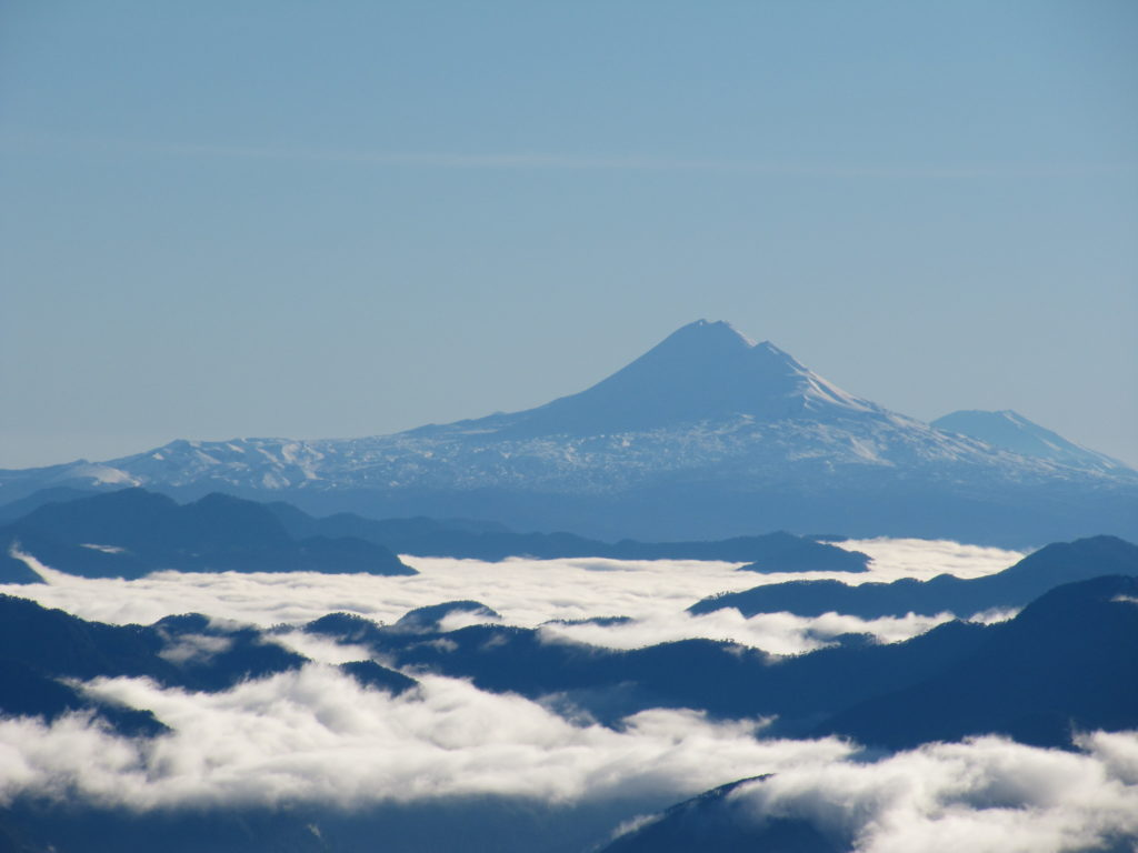 View from Volcano Villarrica, Pucon