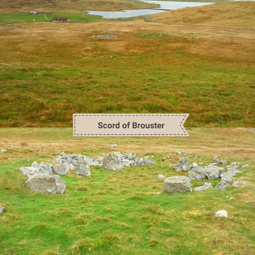 Shetland's Neolithic sites - Scord of Brouster