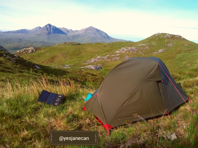 Cape Wrath tips - Overlooking Kylesku, wild camping in Scotland