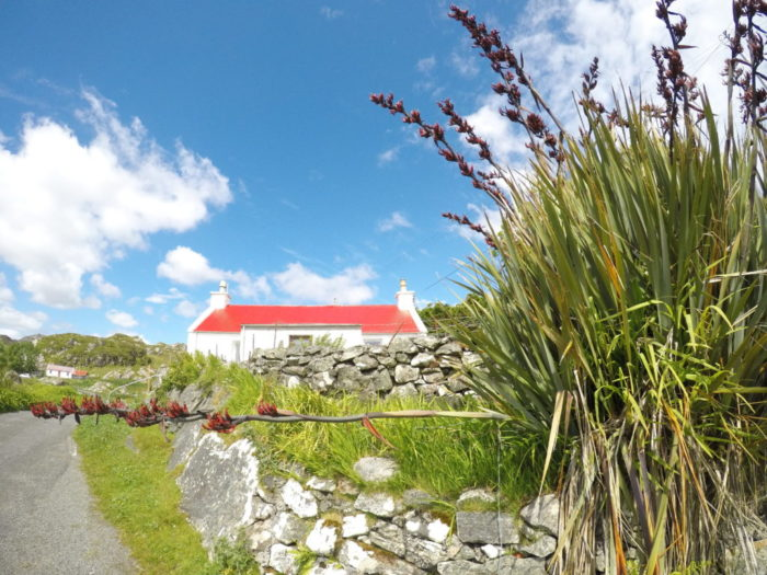 Hiking the Hebridean Way - A house in Harris, Outer Hebrides
