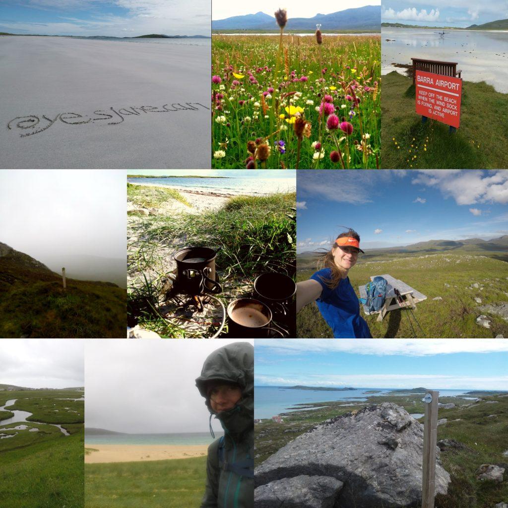 Walking the Hebridean Way - montage