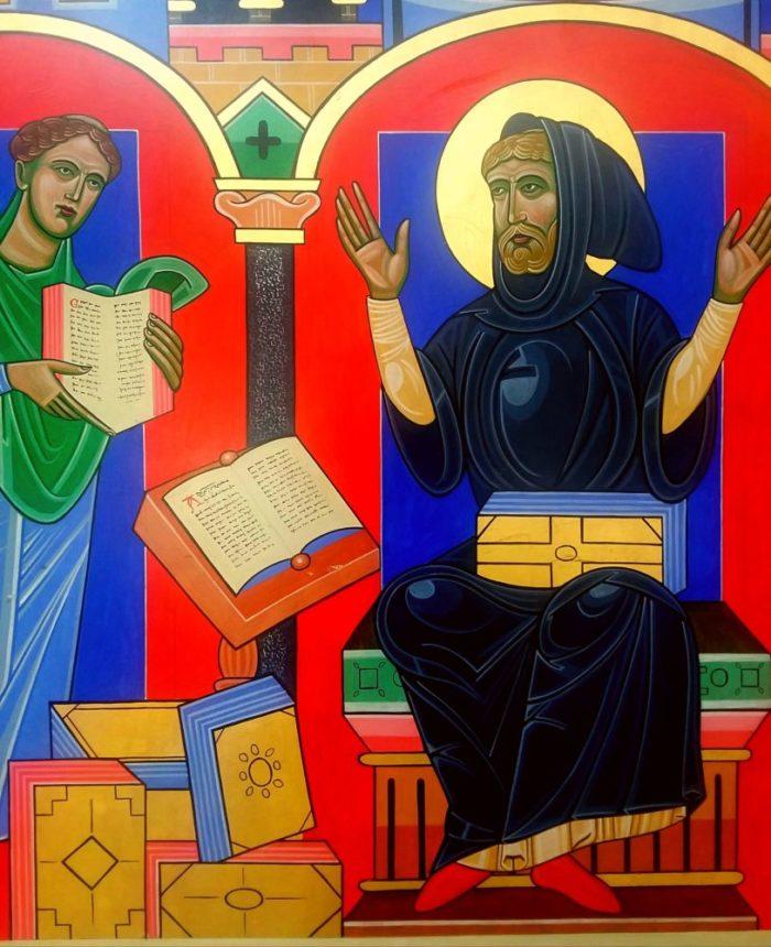 Anglo-Saxon England - St Paul's Monastery
