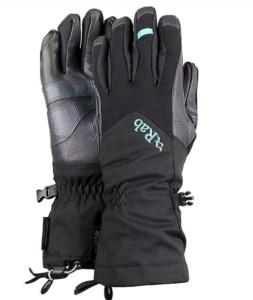 winter hiking - Rab gloves