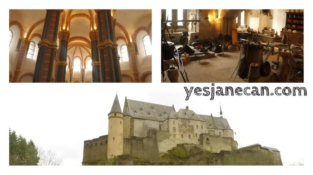 Luxembourg tourist attractions - Vianden Castle