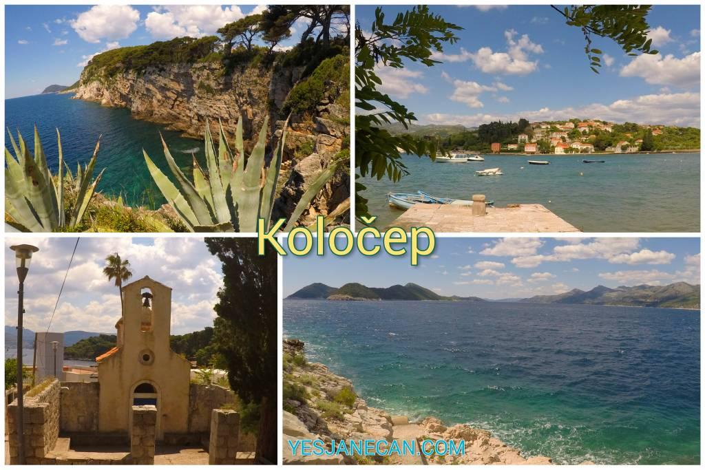 Kolocep islands of Croatia