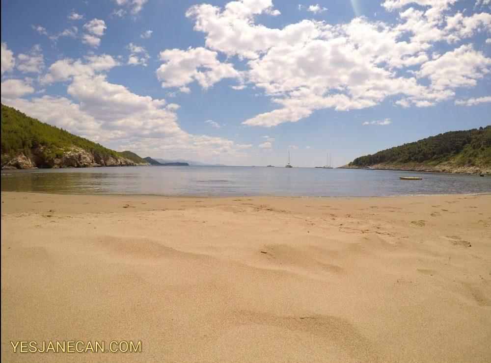 Sandy beach - The best islands in Croatia