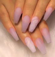 natural cute light nails design