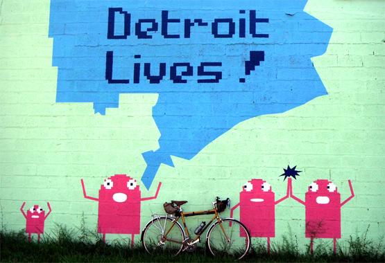Detroit Lives art by RussTeaches.