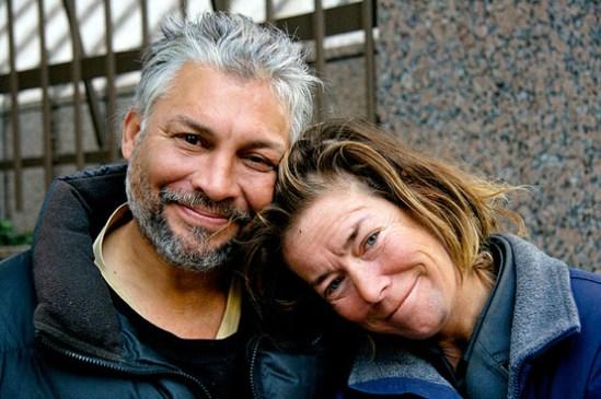 Homeless Couple photo by Jeremy Brooks