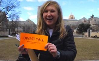 Yale divestment campaign