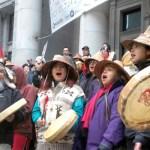 """Flash Mob Prayer Circle"" Shows Idle No More's Spiritual Side"