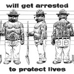 Would Smokey the Bear Get Arrested to Stop Fracking?