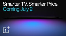 New OnePlus TV with affordable pricing to debut on July 2