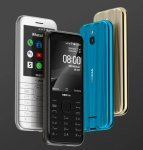 The Nokia 8000 4G is HMD Global's best-looking feature phone