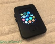 Apple Watch prototype spotted running pre-watchOS software in new images