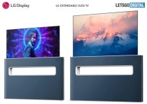 LG granted patent for an extendable OLED TV design
