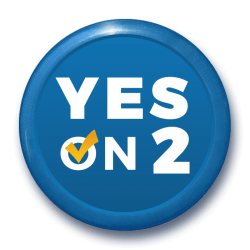 Yes On 2 button